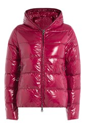 Duvetica Down Jacket With Hood Pink