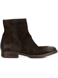 N.D.C. Made By Hand 'Intone' Boots Brown
