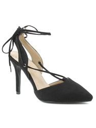 Daniel Moorfield Criss Cross Stiletto Sandals Black