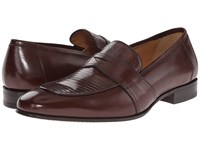 Mezlan Tartu Brown Men's Slip On Dress Shoes