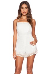 Jens Pirate Booty Roux Romper Ivory