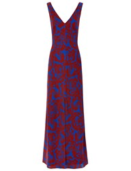 Jonathan Saunders Spice Crepe Printed Mathea Dress Multi