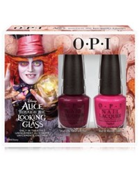 Opi Alice Through The Looking Glass Mad Hatter Nail Lacquer Duo No Color