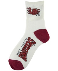 Wincraft For Bare Feet South Carolina Gamecocks Ankle Socks White