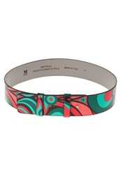 M Missoni Waist Belt Corallo Multicoloured