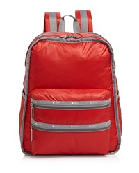 Le Sport Sac Lesportsac Functional Color Block Backpack Classic Red