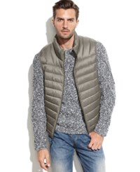 Hawke And Co. Outfitter Hawke And Co. Lightweight Packable Down Vest Silver