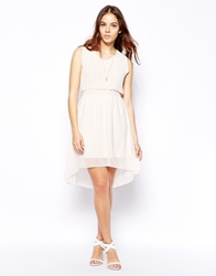 Pussycat London Chiffon Dress Cream