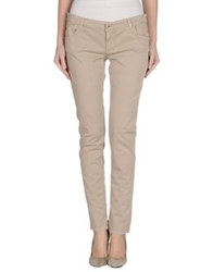 Gold Case Denim Pants Beige