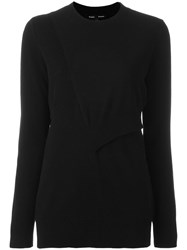 Proenza Schouler Side Slit Jumper Black