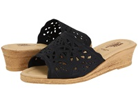 Spring Step Estella Black Women's Wedge Shoes