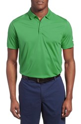Men's Nike 'Victory Dri Fit Golf Polo Classic Green White