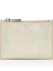 Aspinal Of London Small Essential Pouch Gold