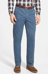 Men's Peter Millar 'Raleigh' Washed Twill Pants Navy
