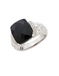 Lord And Taylor Bold Gemstone Ring Sterling Silver