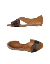 Aerin Sandals Brown
