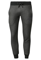 Russell Athletic Tracksuit Bottoms Winter Charcoal Marl Anthracite