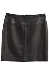 Hugo Letitia Leather Skirt