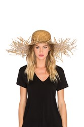 Lack Of Color The Russo Wide Brimmed Hat Beige