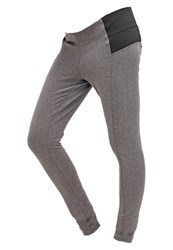 Mama Licious Mlnanna Leggings Medium Grey Melange Mottled Grey