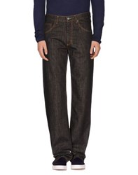 Rifle Denim Denim Trousers Men Dark Brown