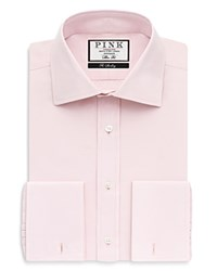 Thomas Pink Frederick Plain Cutaway French Cuff Dress Shirt Bloomingdale's Regular Fit Pink