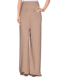 Paul And Joe Casual Pants Light Brown