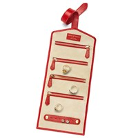 Aspinal Of London Jewellery Roll With Tab