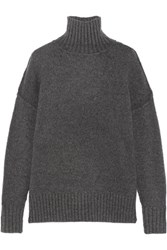 Nlst Knitted Turtleneck Sweater Charcoal