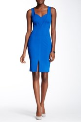 Yigal Azrouel Slit Front Dress Blue