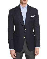 Tom Ford Spencer Base Two Button Blazer Navy