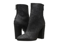 Just Cavalli High Heel Glitter Bootie Black Women's Zip Boots