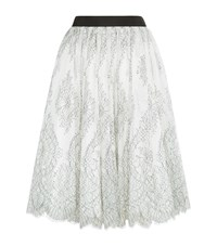 Ted Baker Seeley Lace Midi Skirt Female White