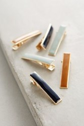Anthropologie Adrienne Hair Clip Set Sky