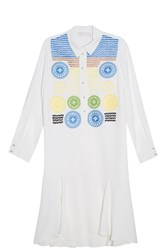 Peter Pilotto Olympia Dress White