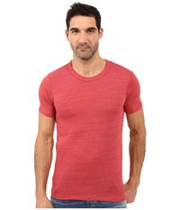 Alternative Apparel S S Crew Tee Eco True Fig Men's T Shirt Red