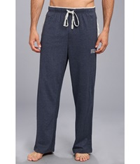 Kenneth Cole Reaction Super Soft Brushed Jersey Sleep Pants Dark Indigo Navy Men's Pajama