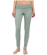 Hot Chillys Geo Pro Bottom Verde Heather Women's Casual Pants Green