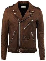 Faith Connexion Biker Jacket Brown