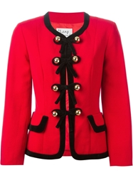 Moschino Vintage Matching Suit Red