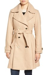Jessica Simpson Women's Fit And Flare Trench Coat