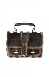 Haircalf And Mink Satchel Edition01