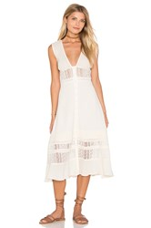Somedays Lovin Fortune Peasant Dress Cream