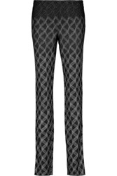 Missoni Metallic Knitted Skinny Pants Black