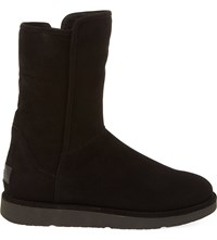 Ugg Abree Short Suede Ankle Boots Black