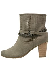Tom Tailor Boots Mud Taupe