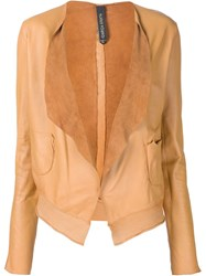 Giorgio Brato Waterfall Jacket Yellow And Orange
