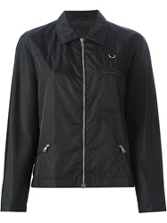 Prada Vintage Zipped Wind Breaker Jacket Black