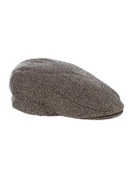 Howick Tweed Flat Cap Brown