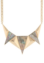 Selected Femme Sfcourtney Necklace Gold Colour